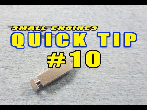Quick Tip 10 How To Install Needle Valve Clip On Tecumseh