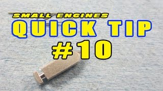 Quick Tip #10 - How To Install Needle Valve Clip On Tecumseh Carburetors