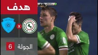 هدف الاتفاق الأول ضد الباطن (خوان كاليخون) في الجولة 6 من دوري المحترفين السعودي