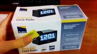 """Unboxing & Обзор: Радиочасы с проектором """"Tesler CR-320 Black"""""""