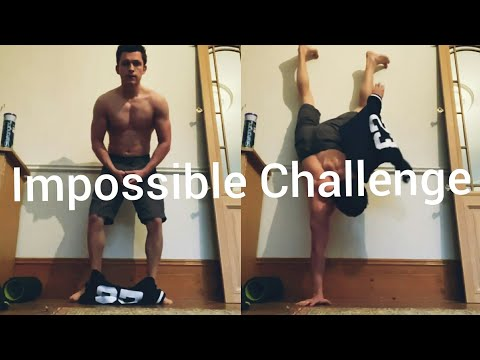 Tom Holland Attempts The ?Impossible Challenge? Of Putting a Shirt On While Doing a Handstand