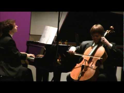 Franz Liszt, Romance oubliée, Guido Schiefen (cello), Eric Le Van (piano)