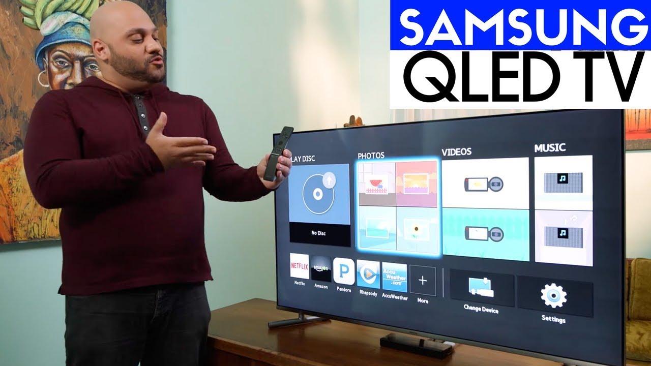 Samsung QLED Q6F 4K HDR TV Unboxing U0026 Setup   Special Edition QN49Q6F!
