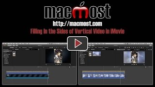 Filling In the Sides of Vertical Video in iMovie (#1210)