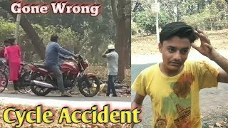 Cycle Accident Prank (Gone Wrong)  _-_ 1st time in India