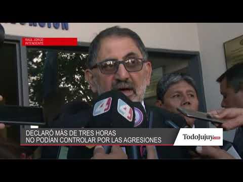 Megacausa: Raúl Jorge declaró por más de tres horas esta mañana