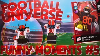 JARVIS LANDRY is UNSTOPPABLE in ROBLOX Football Universe