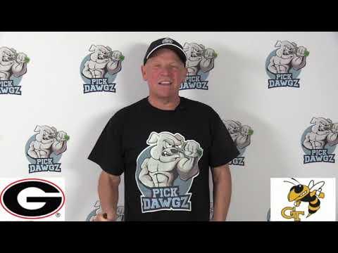 Georgia Tech vs Georgia 11/30/19 Free College Football Pick and Prediction Week 14 CFB Tips