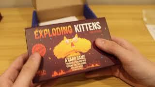Exploding Kittens Party Pack SPOILER ALERT!