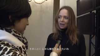 Watch the exclusive video of Christel Takigawa interviewing Stella ...