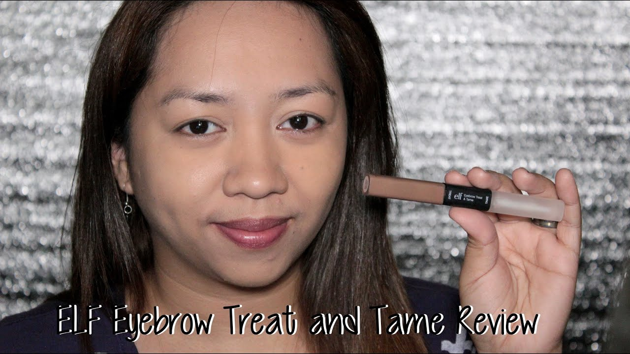 Product Review Elf Eyebrow Treat And Tame Review Youtube