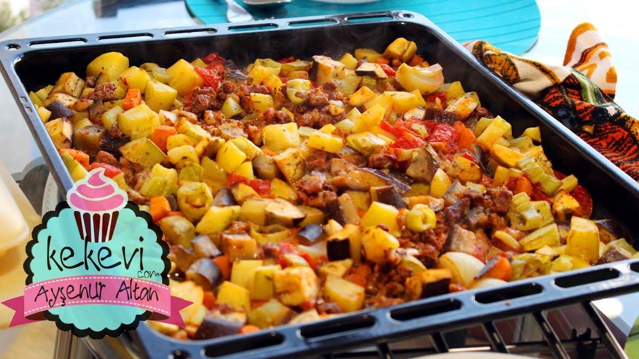 Sebzeli Kağıt Kebabı Tarifi Videosu