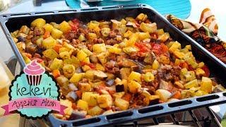 Fırında En Kolay Etli Sebze Kebabı (İftar Menüsü İçin) | Ayşenur Altan Yemek Tarifleri
