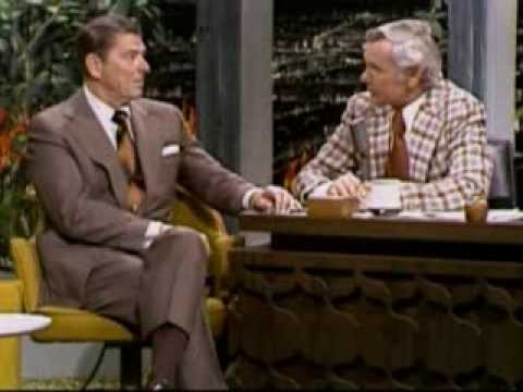 GOVERNOR REAGAN AS GUEST WITH JOHNNY CARSON - 03/15/75