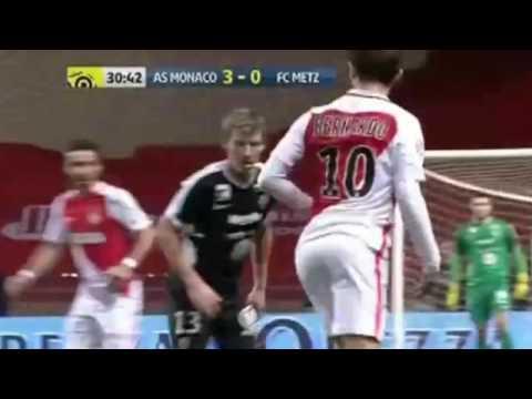Монако   Метц 5 0  Обзор матча  Франция  Лига 1 2016 17  25 тур ipad