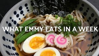 What Emmy Eats in a Week #6