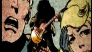 Velvet revolver video... Music from the fantastic four....