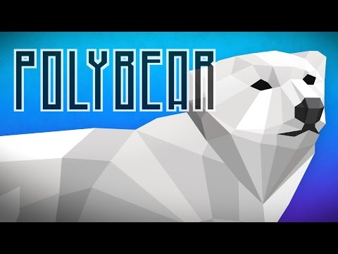 Polybear: Ice Escape | Endless Arcade Runner for iOS and Android