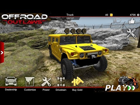 Offroad Outlaw - American 4x4 Cars Most Realistic Offroad Mobile Game