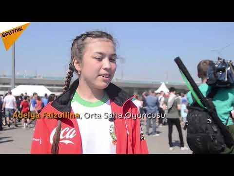Tataristan'dan Dünya Kupası'na bir ilk 'kız top toplayıcılar'