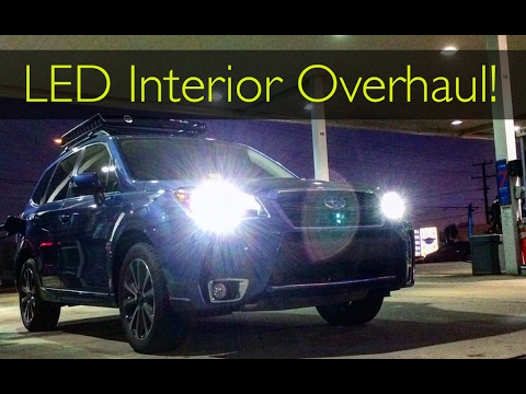 2017 Subaru Forester Xt Led Interior Overhaul