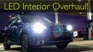 homepage tile video photo for 2017 Subaru Forester XT LED Interior Overhaul!