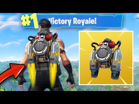 "*NEW* GAME MODE ""SOLID GOLD""  & LEGENDARY JETPACK UPDATE (LEGENDARY FORTNITE GAMEPLAY)"