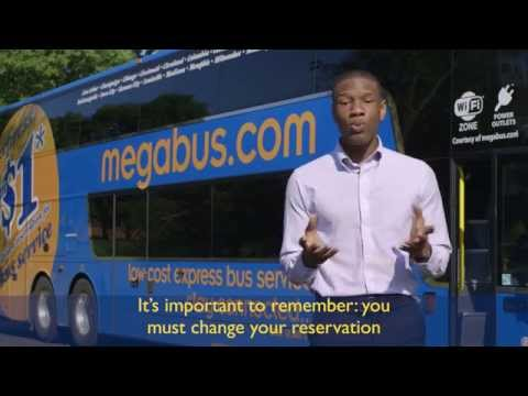How To Trade In An Existing Megabus.com Reservation