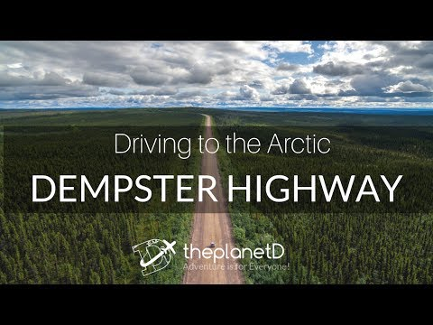 Dempster Highway Road Trip - Yes You Can Drive to the Arctic
