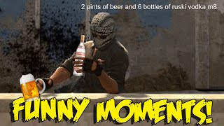 CS:GO FUNNY MOMENTS - JUMPING NO SCOPE AWPS , DRUNK TERRORIST,  HACKER (Funny Moments)