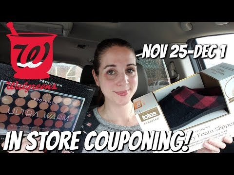 WALGREENS IN STORE COUPONING 11/25/18-12/1/18! FREE CREST/$10 PROFUSION & MORE!