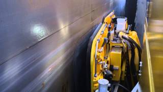 MoorMaster™ automated mooring at the St. Lawrence Seaway