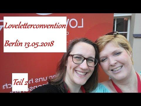 LoveLetterConvention 2018 - VLOG vom Sonntag