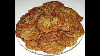 Картофельные драники с кабачком   Какие вкусные , сочные и нежные