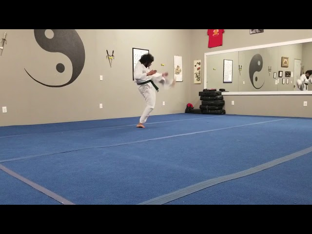 Akash Test to Brown Belt