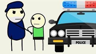 AMINTIRI DIN COPILARIE Arestat De Politie La 14 Ani ! [ DESEN ANIMAT ]