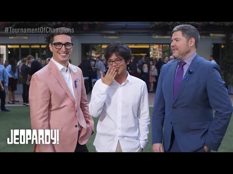 THE AFTER-PARTY: BUZZY, ALAN AND AUSTIN | JEOPARDY! TOURNAMENT OF CHAMPIONS