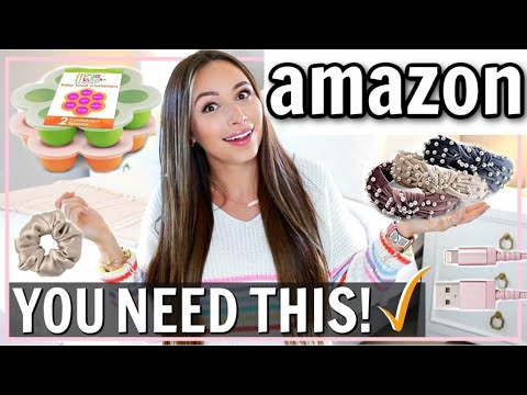 10 AMAZON BUYS SO WORTH IT! RECENT AMAZON PURCHASES 2019 | Alexandra Beuter