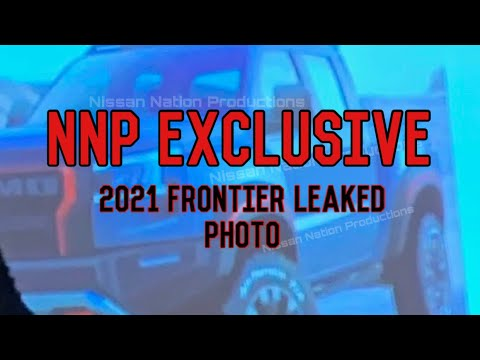 2021 Nissan Frontier Leaked Photo