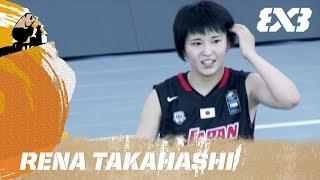 Rena Takahashi (JPN) - Player of the Day - FIBA 3x3 U18 World Cup 2017