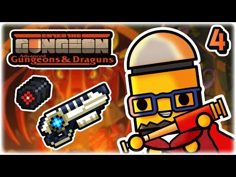 Laser Particulator Synergy | Part 4 | Let's Play: Enter the Gungeon Advanced Gungeons and Draguns