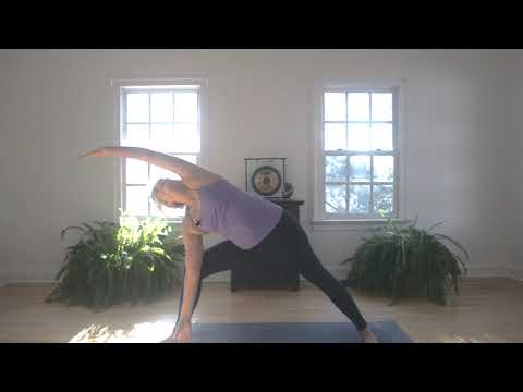 SLOGA, or Slow Yoga, a gentle yoga practice by Brooke Correll, based on Daily Word messages.