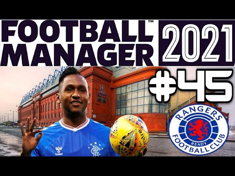MORELOS LEAVES FOR £46 MILLION! FOOTBALL MANAGER 2021 - RANGERS CAREER - EPISODE 45 |