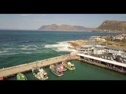 Kalk Bay by Drone in 4k