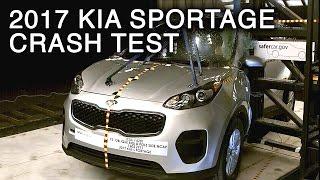 2017 Kia Sportage Side Pole Crash Test