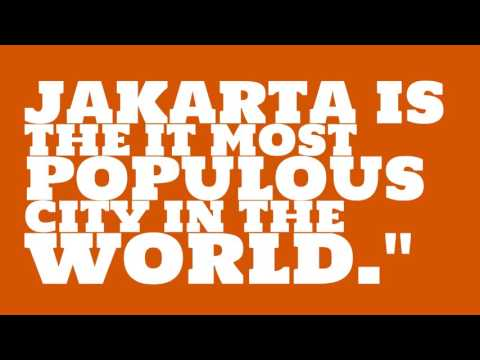 What is the population of Jakarta?