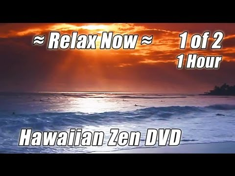 ZEN MEDITATION RELAXATION #1 Relax Ocean Relaxing Wave Sounds Music Hour Hawaiian Waves Playlist