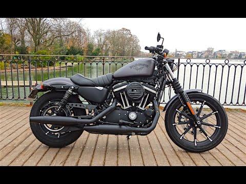 2016 Harley Davidson Sportster Iron 883 : Noir désir - Essai vidéo ...
