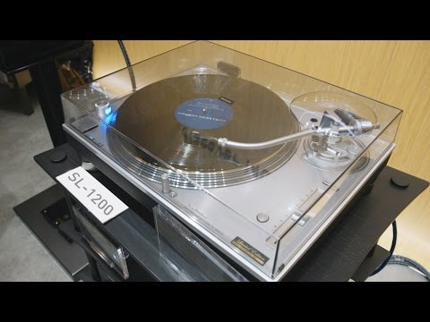 Technics 1200 turntable is back in hifi audio — CES 2016
