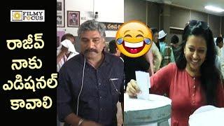 Anchor Suma Hilarious Fun @MAA Elections 2019 || Rajiv Kanakala - Filmyfocus.com